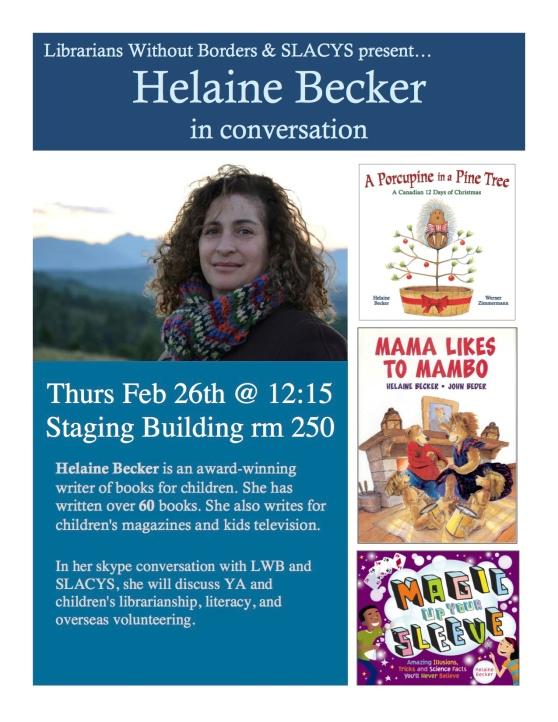 Helaine Becker poster